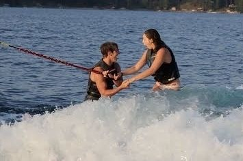 This Wakeboard Wedding Proposal Video Is Equal Parts Romantic And Badass