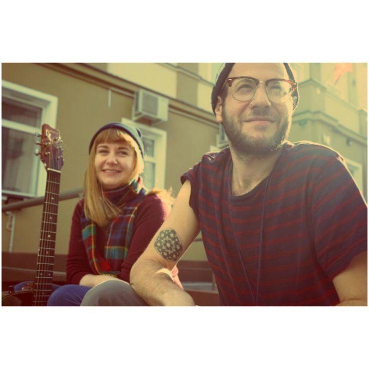 Patchwork Hostel Staff! Dorota & Aaron <3