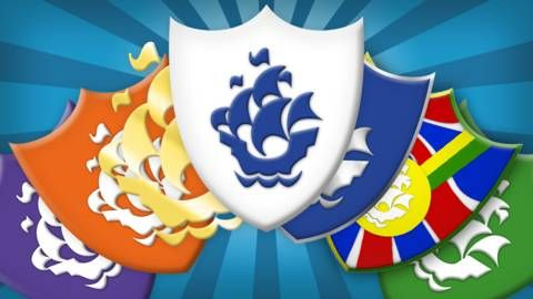 Blue Peter badges - green badge