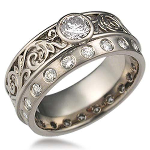 34 best Western Style Wedding Rings images on Pinterest | Western ...