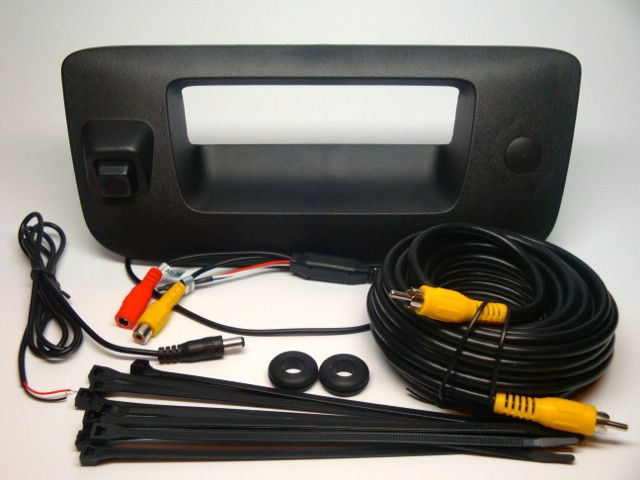2007-2013 Silverado / Sierra Aftermarket Backup Camera Kit