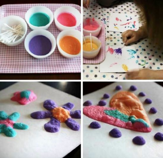 Best 25 Homemade Puffy Paint Ideas On Shaving Cream Art And Slime With