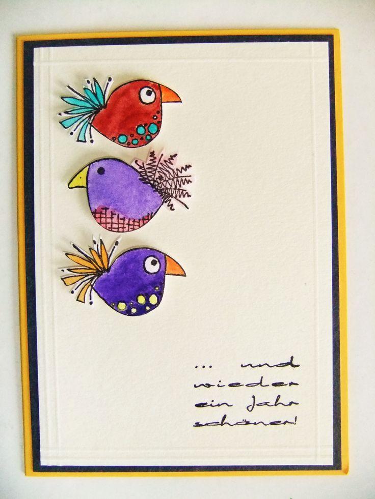 Aquarell Watercolour Jofy Stamps Cards DIY