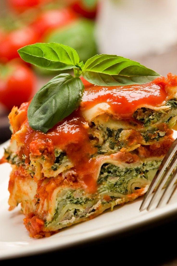 Extra-Easy Spinach Lasagna Recipe