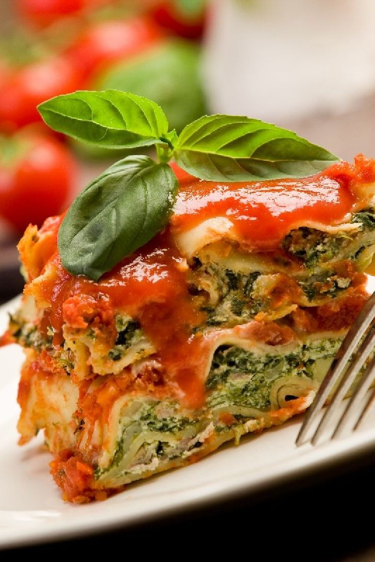 Extra-Easy Spinach Lasagna | Recipe