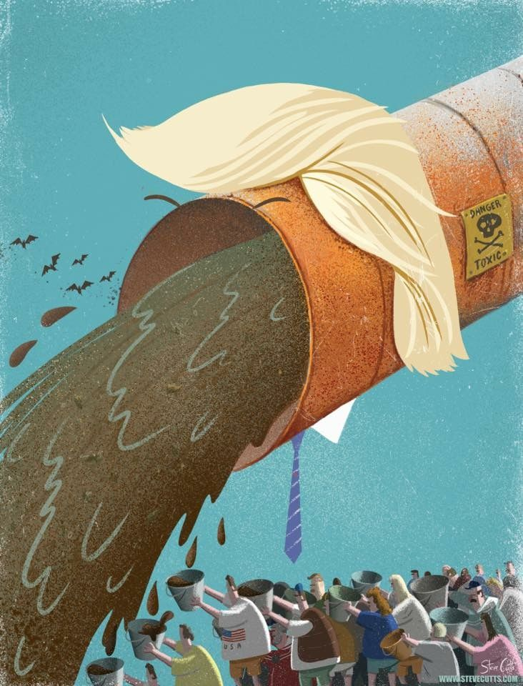 Best Steve Cutts Pawel Kuczynski Images On Pinterest Global - Cartoon mural man obsessing facebook likes says lot society