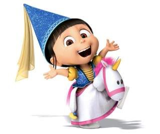 Agnes is awesome and loved unicorns!!