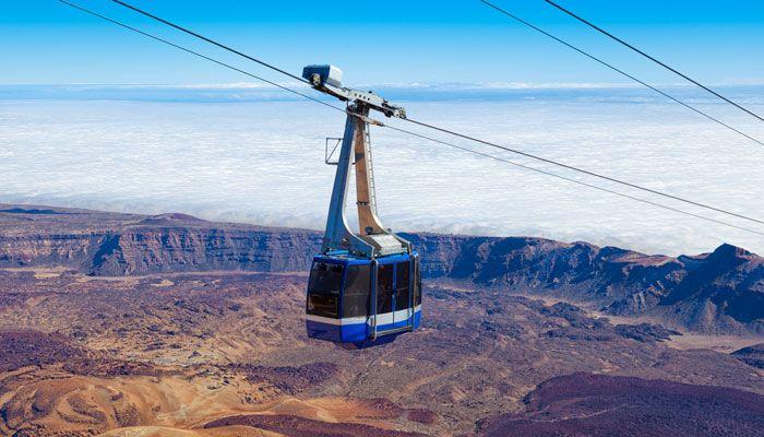 Mount Teide Cable Car
