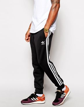 Adidas Originals Cuffed Track Pants · Adidas FashionMens