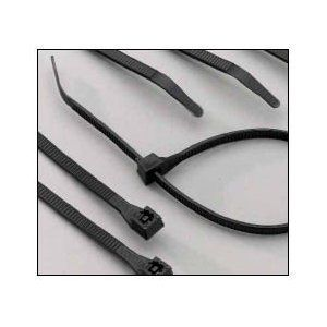 Boston Industrial UV 175 Tensile Strength 14 Inch Cable Ties, 100 Pack - Black by Boston Industrial. $4.50. Patented DoubleLock design ensures 50% more tensile strength than standard ties. Resistant to degradation by ultraviolet rays. Flexible Nylon material allows cable ties to remain serviceable thru temperature ranges of -40 to 185 degrees Fahrenheit. Recognized under component program of Underwriters Laboratories, E125869. Meets flammability classification UL 94 V-2 an...