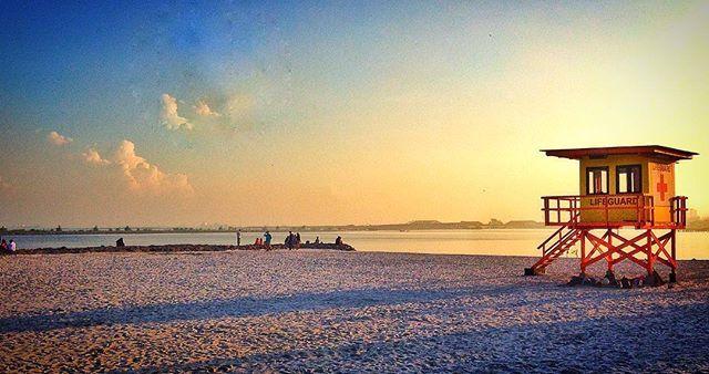 Ancol Beach Lifeguard tower in the morning. #sunrise #morning #goodmorning #quiet lifeguard #tower #watch #gerhana #ancol #eclipse #jakarta #indonesia #beach #sky #orange #selamatpagi