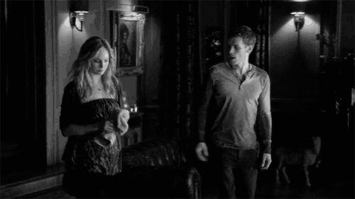 the vampire diaries Caroline Forbes klaus mikaelson