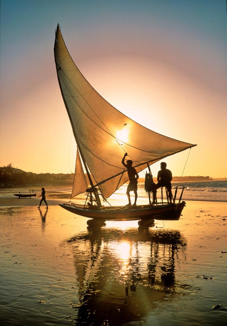 Paraipaba beach  - Ceará,Brazil .