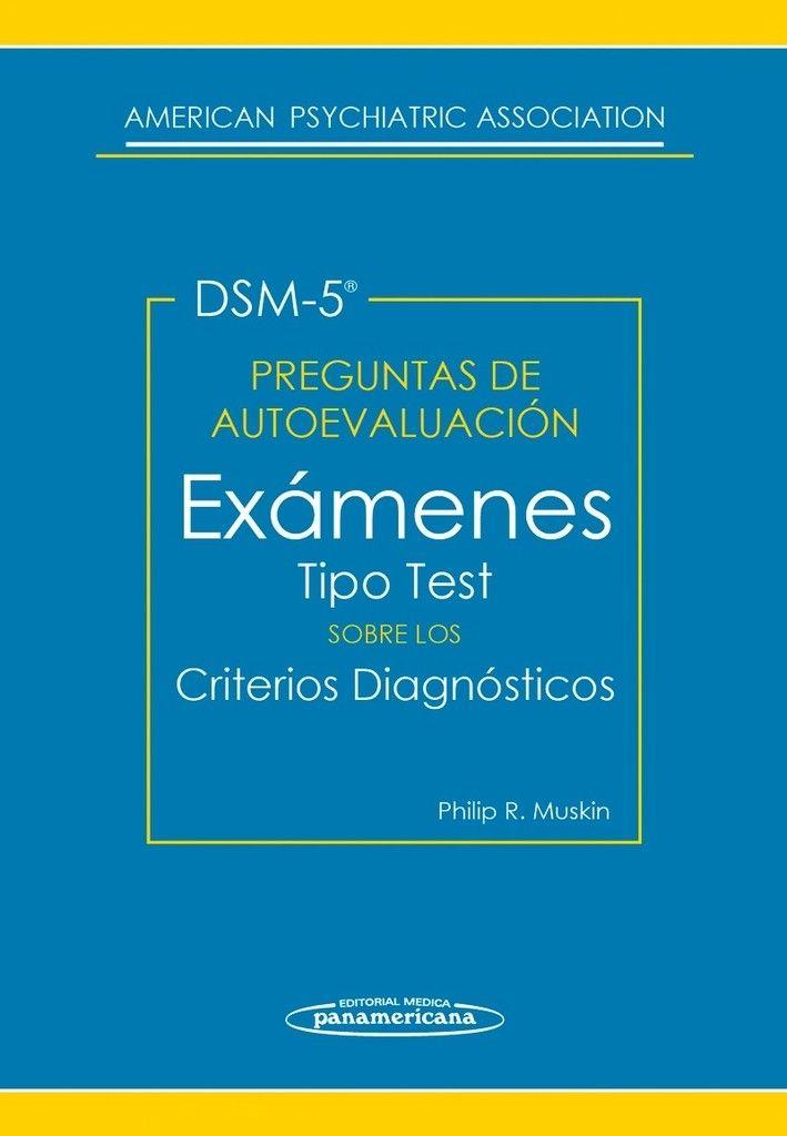 Preguntas de Autoevaluación del DSM-5  #DSM5 #Psiquiatria #Medicina #AZMedica #LibrosdePsiquiatria #LibrosdeMedicina