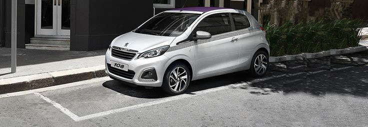 New Peugeot 108 3-door | The customisable & connected city car