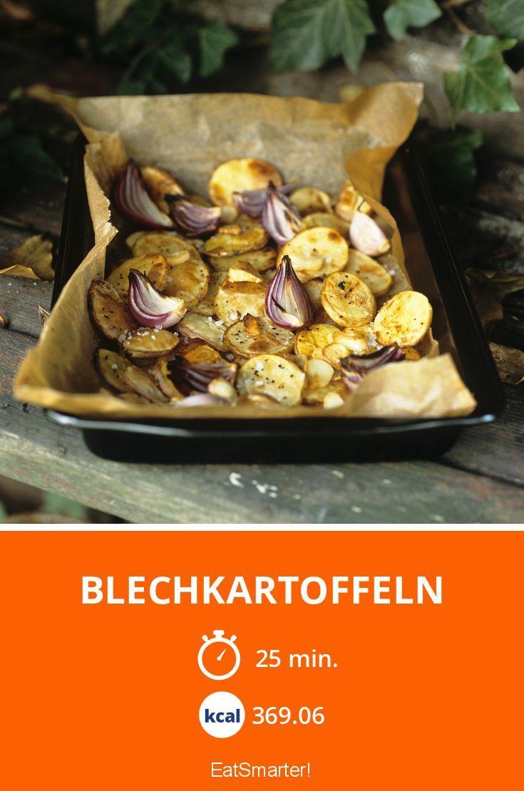 Schnelle Blechkartoffeln | Kalorien: 369.06 Kcal - Zeit: 25 Min. | eatsmarter.de