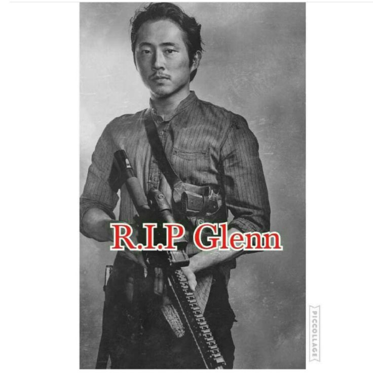 RIP Glenn! The Walking Dead won't be the same without you.