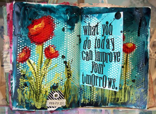 donna downey inspiration wed: Art Quotes, Art Journals Pages, Drywall Tape, Altered Books, Awesome Colors, Colors And Shape Quotes, Inspiration Quotes, Art Journaling, Inspiration Wednesday Videos