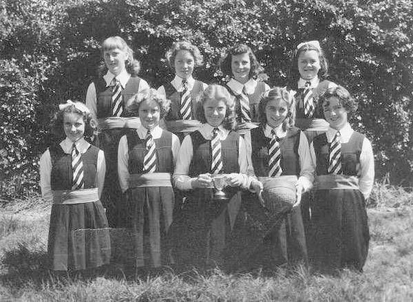 St Joseph`s basketball team. Runanga.1951. | West Coast New Zealand History