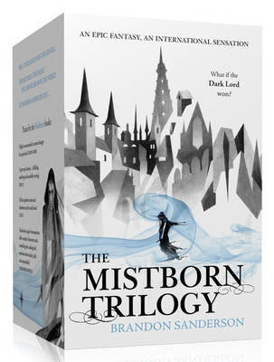 Mistborn Trilogy-- still one of the best fantasy series I have ever read and probably will ever read