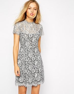 Supertrash+Mini+Dress+in+Lace