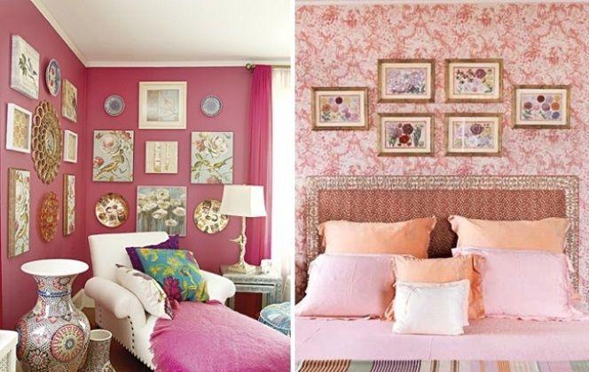 Composição de quadros na parede Ideias legais para fazer na sua casa 22