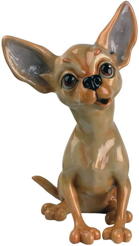 Tiffany the Chihuahua Dog Statue-Sculpture-Figurine The fun and friendly members of the Pets with Personality Collection have been affectionately designed with love and a contagious sense of humor. Any one of these charming characters will be delighted to live in your home or garden, but with so many irresistible personalities, you are sure to want to collect a few! New pets are added annually so the fun continues to grow!