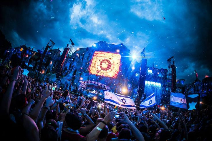 2. Tomorrowland – Boom, Belgium  (July 18 – 19 – 20, July 25 – 26 – 27)