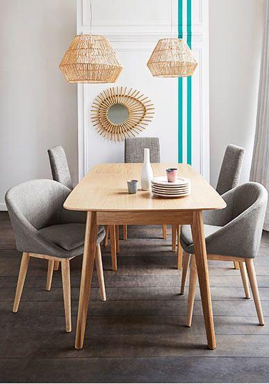 Table de salle à manger évolutive Biface de 4 à 10 couverts prix Table salle à manger La Redoute 849.00 €