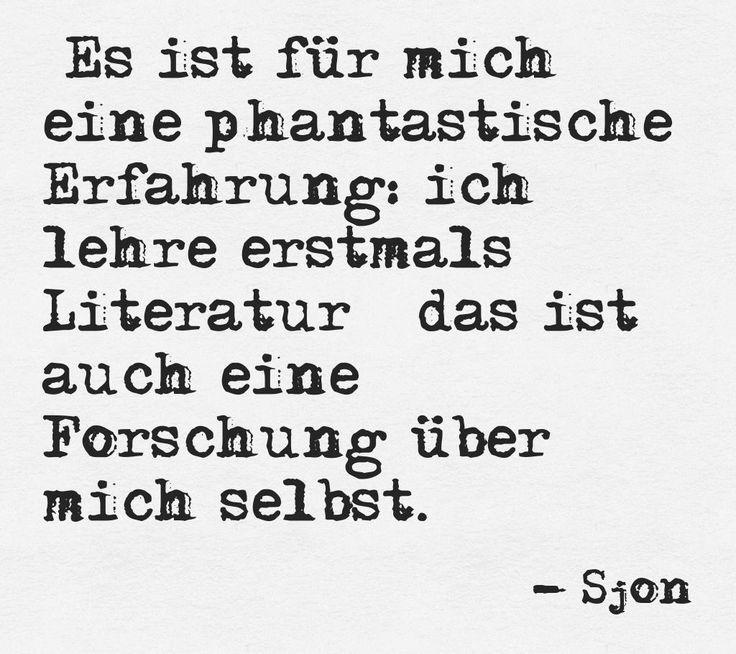 #Sjon about his time as #Samuel Fischer Guest Professor (http://pinstamatic.com)
