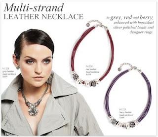 Miglio Multi-strand Leather Necklace