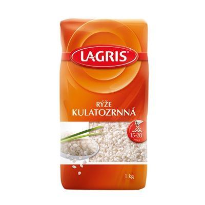 Lagris Rýže KULATOZRNNÁ - nakupuj na Podravka-eshop.cz