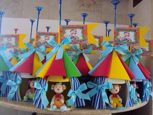 Circo,tendinhas Para Aranjos De Mesas E Lembrancinhas .