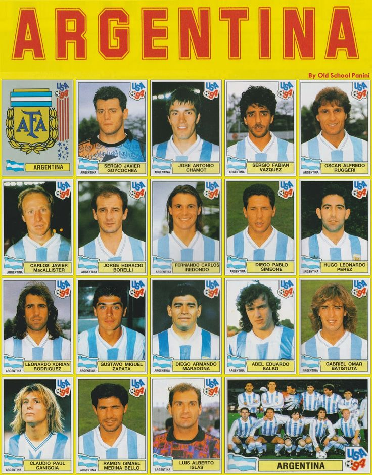 Argentina in USA '94