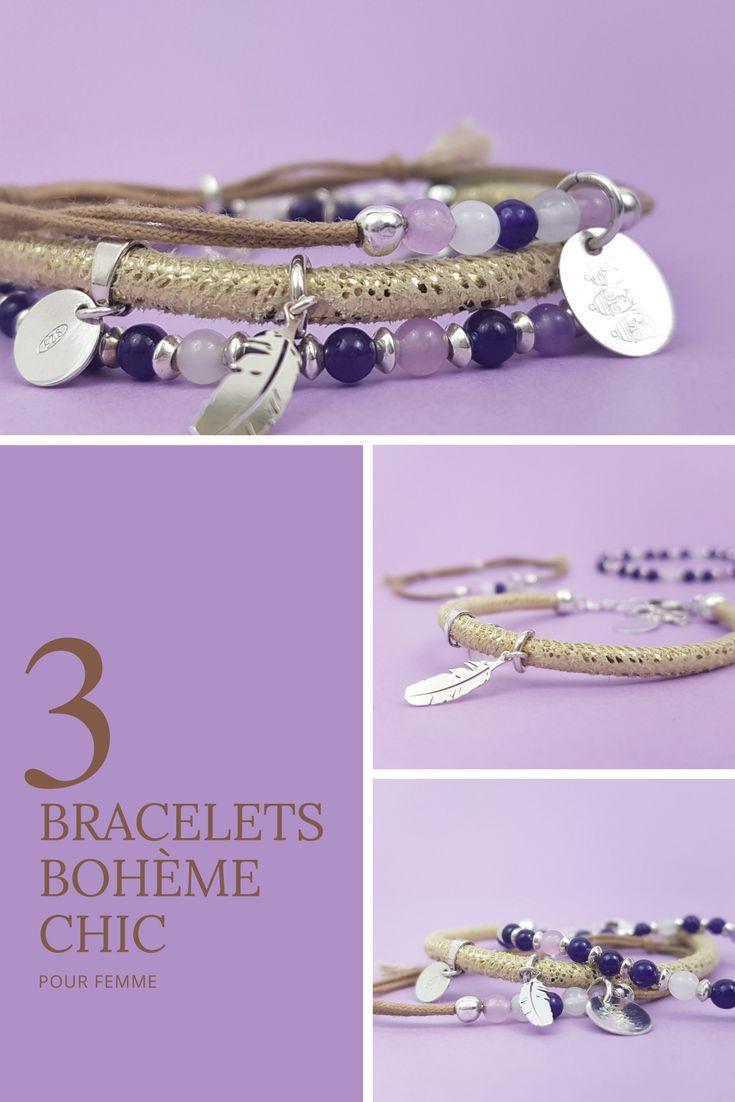 D Ou Vient Le Cuir dainty jewelry boho bracelet beaded bracelet bracelets for