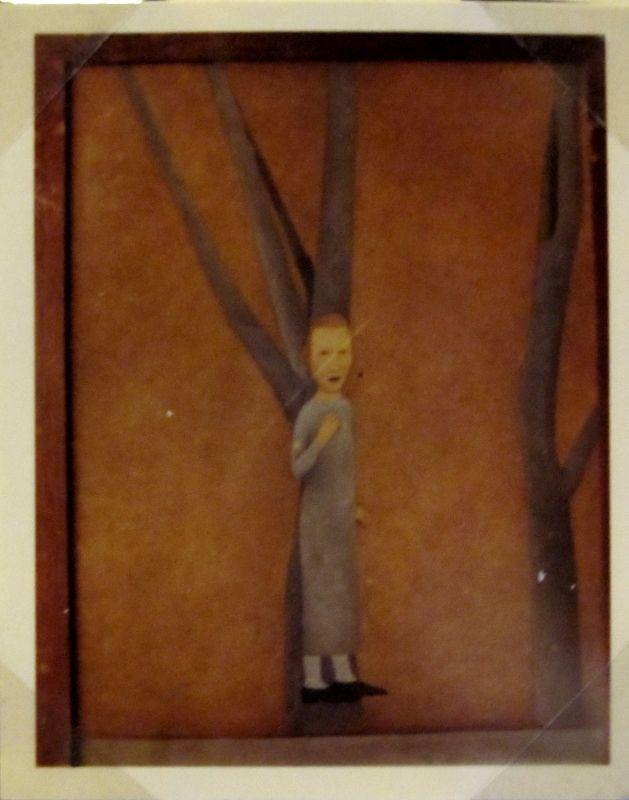 © Vlasta Vostřebalová Fischerová - Snící dívka (kol. 1925), dnes nezvěstné dílo