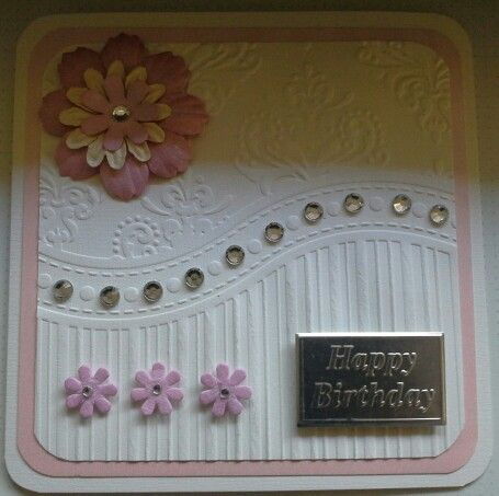 23rd April 2016 Alison's card kit