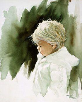 Carolyn Blish. Watercolor