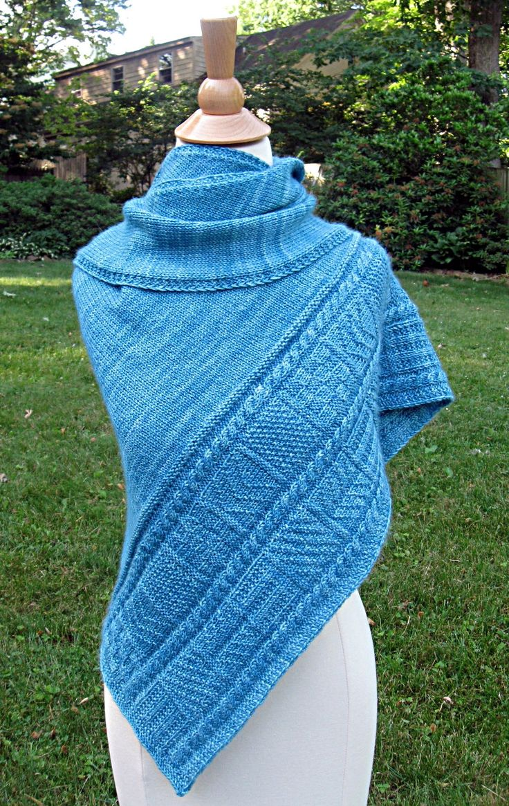 441 best shawl knitting patterns images on pinterest crochet knitting pattern gansey shawl ad ganz triangular shawl features gansey stitch sampler sections and bankloansurffo Image collections