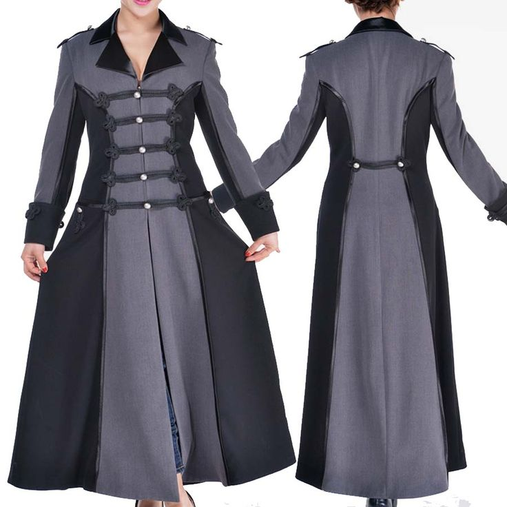 BlueBerryHillFashions: Plus Size Steampunk Coats | XS to 4x | Great Steampunk Designs for Less