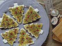 Tartine natalizie al pistacchio