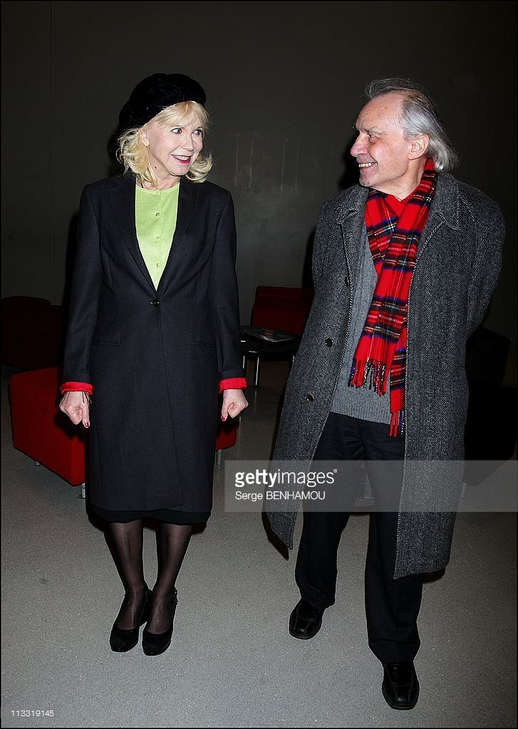 Retrospective Jacques Rivette And Presentation Of His Latest Film ' Ne Touchez Pas La Hache' At The Center Georges Pompidou In Paris, France On March 20, 2007 - Jacques Rivette and Bulle Ogier.