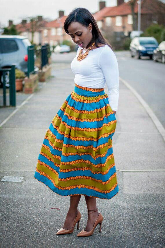 170 best images about Naija! ♥ Skirts on Pinterest | African ...