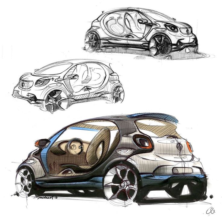 Smart FourJoy concept sketch