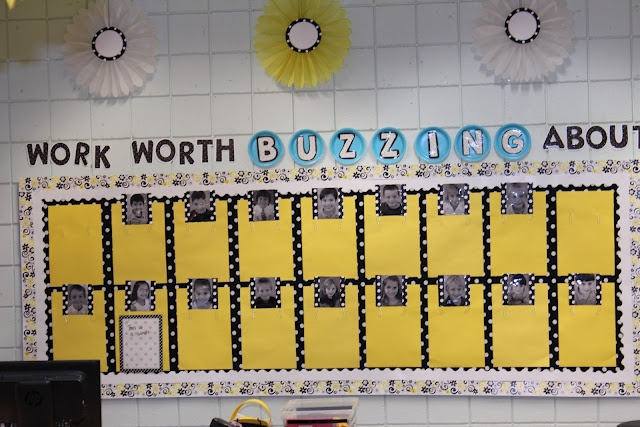 LOVE this. Great way to post student work!