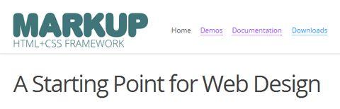 Markup Framework: точка отправления для скоростной веб-разработки