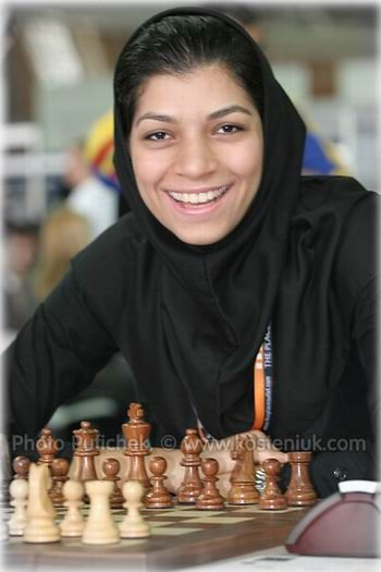 "Atousa Pourkashiyan (Persian: آتوسا پور کاشیان‎, born 16 May 1988) is an Iranian chess Woman Grandmaster. She played for Iran in the Women's Asian Team Chess Championships of 2003, 2005 and 2008, Women's World Chess Championship 2012. In April 2010 she won Women's Asian Chess Championship in Subic Bay. Her handle on the Internet Chess Club is ""Atousa"""