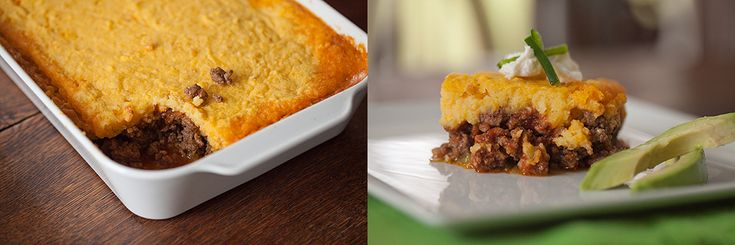 green chile beef and corn pudding casserole!!! MUST EAT THIS!!