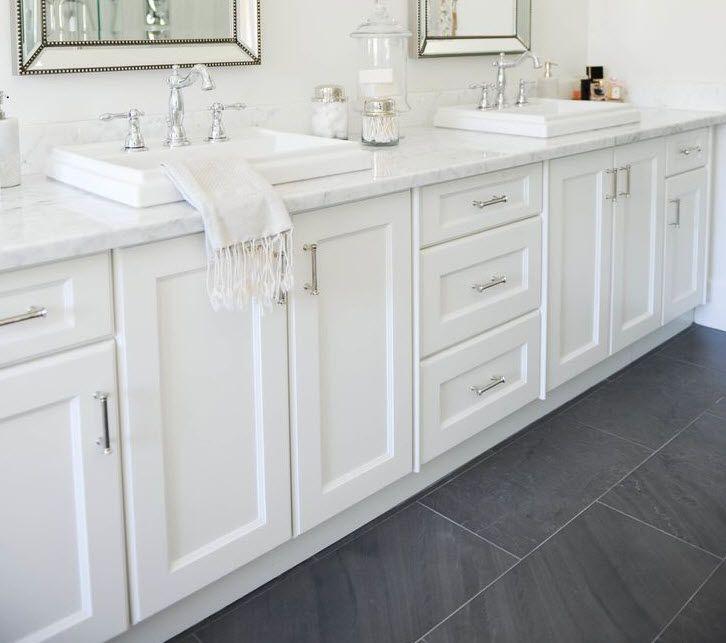 Best 25+ Grey slate bathroom ideas on Pinterest Slate bathroom - bathroom floor tiles ideas