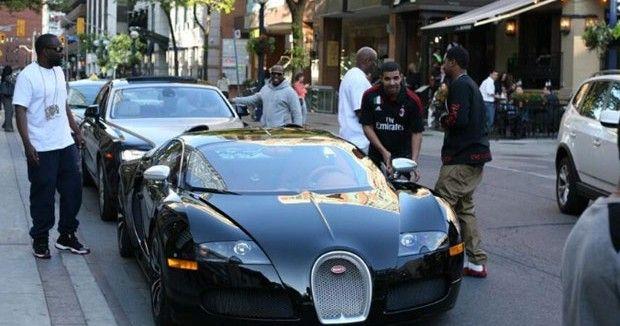 Drake Buys a $2.5 Million Bugatti